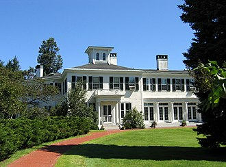 James G. Blaine - Blaine's residence in the capital city of Augusta is the home of Maine governors.