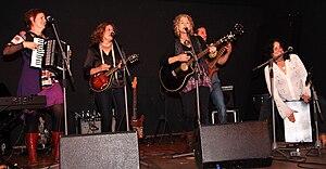 Blame Sally - First German tour at Kult, Niederstetten, 2010