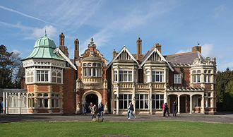 Bletchley Park - The Mansion in 2017