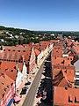 Blick vom Münsterturm über die Reichsstraße in Donauwörth.jpg