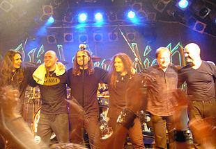 I Blind Guardian dal vivo a Malmö 2007