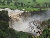Cataratas en Etiopía.