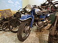 Blue and silver colored NSU motorcycle at the Ford museum pic1.JPG