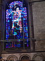 Blue stained glass window..JPG