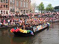 Boat 62 Cafe 't Achterom, Canal Parade Amsterdam 2017 foto 1.JPG
