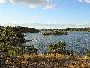 Storö-Bockö-Lökaö Nature Reserve - Image: Bockösundet