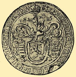 "Early Modern Romania - Seal of Stephen Bocskay, ""By the Grace of God, Prince of Hungary and Transylvania, Count of the Székelys"""