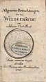 Bode, Johann Ehlert – Allgemeine Betrachtungen über das Weltgebäude, 1808 – BEIC 766161.jpg