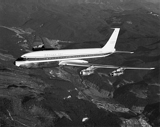 Pan Am Flight 214 - The aircraft involved in the crash, N709PA, before being delivered to Pan Am
