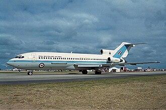 No. 40 Squadron RNZAF - RNZAF Boeing 727 in 2001.