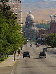 Capitolio estatal en Boise, Idaho