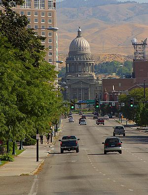 Idaho State Capitol - Capitol Boulevard, Boise, 2003
