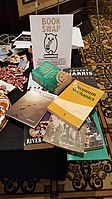 BookSwapping at Wikimania 2018 20180722 151806 (3).jpg