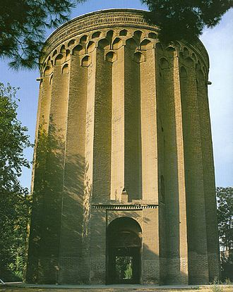 Rey, Iran -  Tughrul Tower, a 12th-century monument commemorating the Seljuq monarch Tuğrul Beg, is one of the historical structures still standing today.