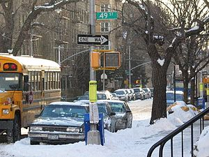 Borough Park, Brooklyn - Borough Park in winter