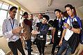 Bottle Vortex Demonstration - Indo-Finnish-Thai Exhibit Development Workshop - NCSM - Kolkata 2014-11-27 9865.JPG
