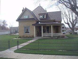 Bountiful, Utah - A home in Bountiful's Historic District.