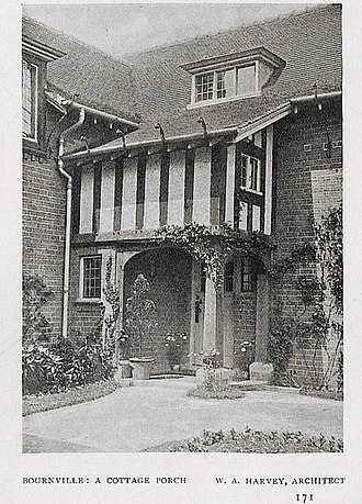 William Alexander Harvey - A cottages porch