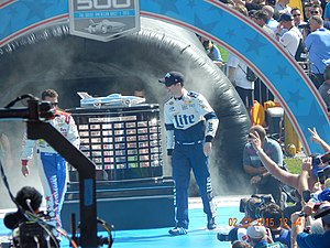 2012 NASCAR Sprint Cup Series - Brad Keselowski, the series champion