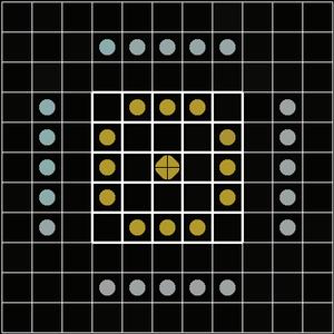 3M bookshelf game series - Image: Breakthru board