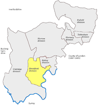 Map of constituency