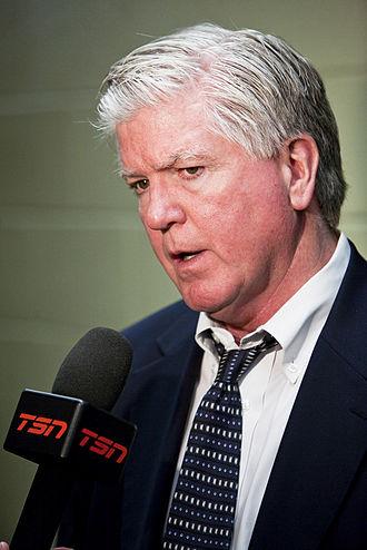 Brian Burke (ice hockey) - Brian Burke in 2009