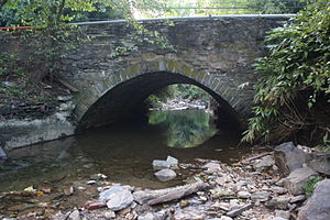Upper Merion Township, Pennsylvania - Bridge near Gulph Mills