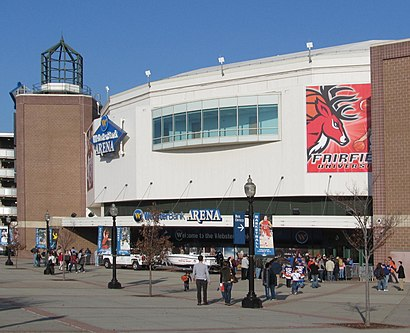 How to get to Webster Bank Arena with public transit - About the place