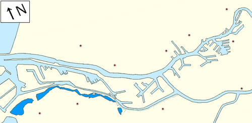 Carte du Meuse de Brielle