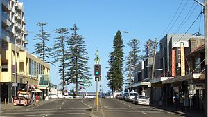 Brighton-Le-Sands, New South Wales - Bay Street, Brighton-Le-Sands