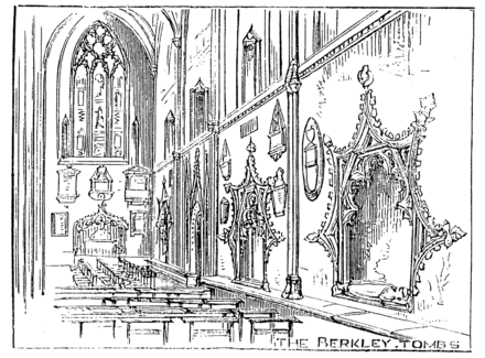 The Berkeley Tombs: detail from an 1873 engraving. Bristol 1873 - Berkley Tombs.png