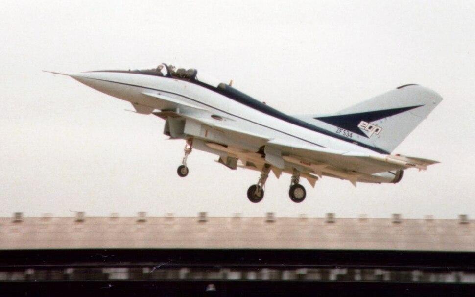 British Aerospace EAP at the Farnborough Air Show, 1986