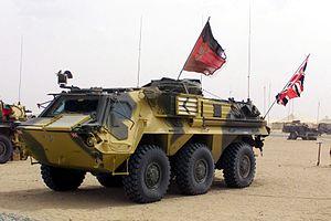 Royal Yeomanry - Fuchs CBRN Reconnaissance Vehicle