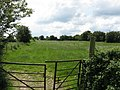 Broadacres Farm - Footpath and fields - geograph.org.uk - 833642.jpg