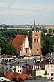 Brodnica kościół pw św Katarzyny - widok z wieży zamkowej.jpg
