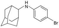 Strukturformel von Bromantan
