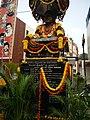 Bronze Statue of Dr Rajkumar on 100 feet Road, DhoopanaHalli Bus Stop, Indiranagar, Bengaluru.jpg