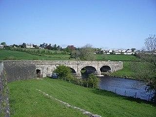 Little Broughton Village in Cumbria, England