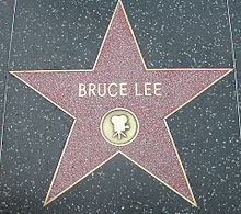 Stella di Bruce Lee sulla Hollywood Walk of Fame, Los Angeles (California)