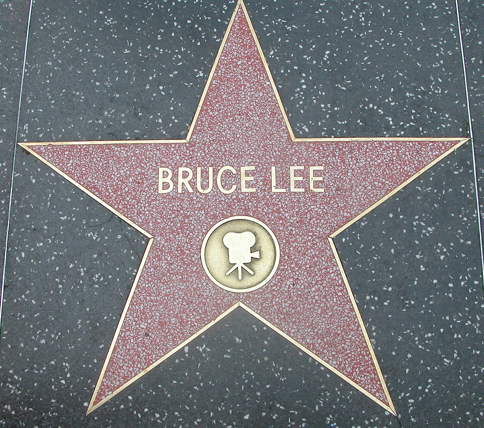 Bruce Lee Walk of fame