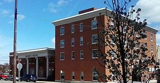 Uhrichsville, Ohio - Third Street downtown