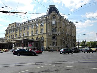 Bucharest North railway station train station in Bucharest, Romania
