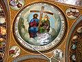 Bucuresti, Romania, Str. Constantin F. Robescu nr. 18, Piata Corneliu Coposu, sect. 3 (Biserica Sfantul Mina - Vergu) (plafon).JPG