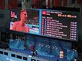 Budapest2017 fina world championships - 203freestyle - scoreboard - results - on screen Dominik Kozma.jpg