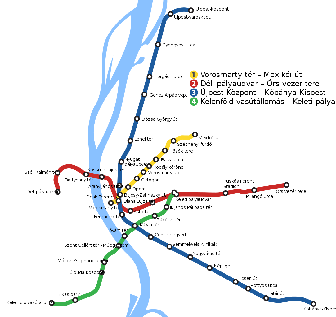 metro térkép File:Budapest Metro Geographical Map.SVG   Wikimedia Commons