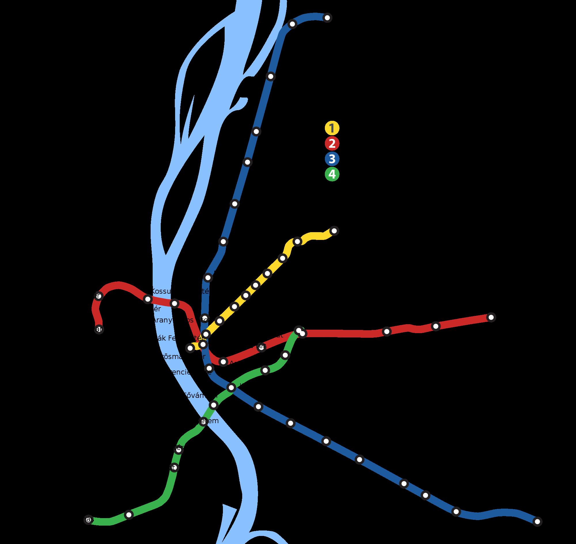 budapest astoria térkép File:Budapest Metro Geographical Map.SVG   Wikimedia Commons budapest astoria térkép