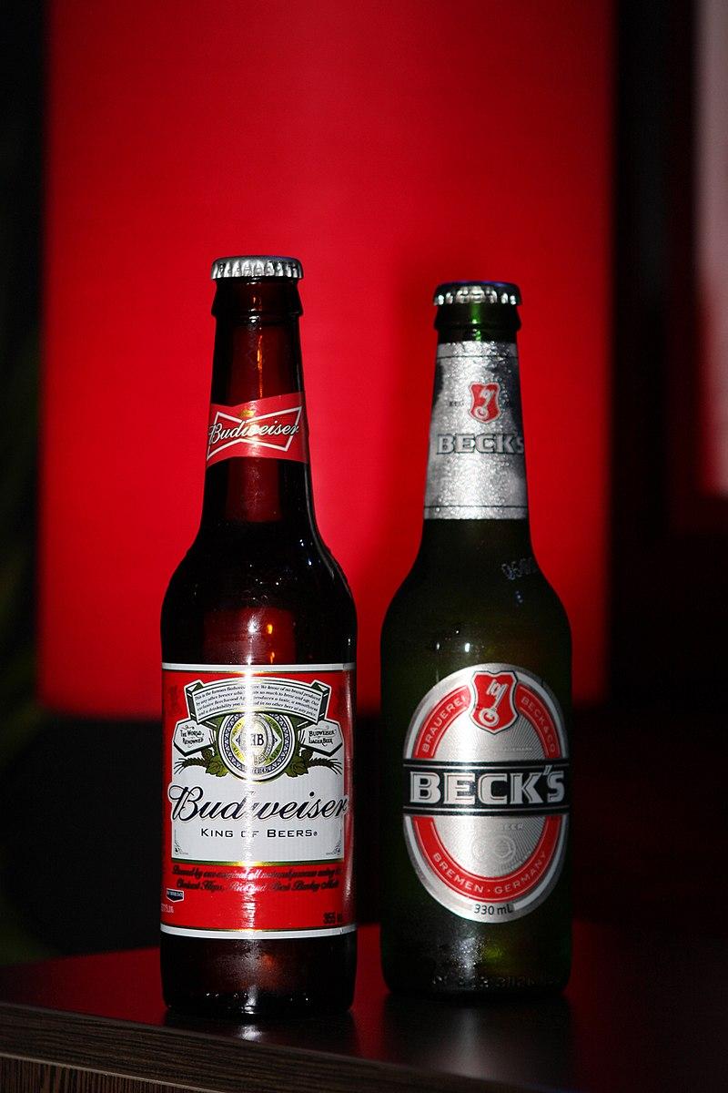 Budweiser, Beck's 2012.jpg