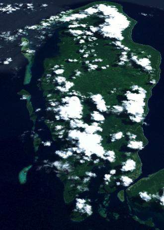 Buka Island - Buka Island from Space