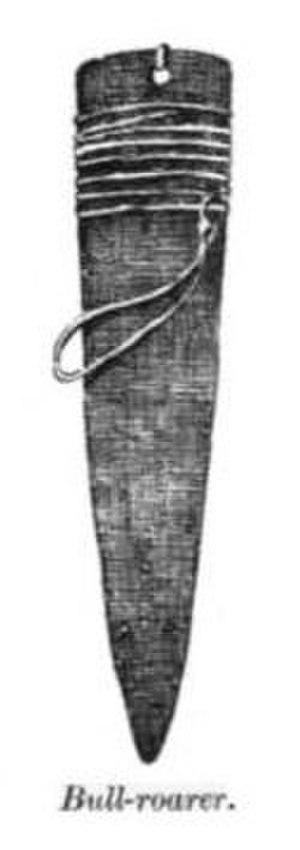 Bullroarer - Image: Bull Roarer Navajo 1910