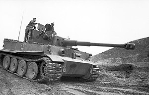 Operation Ochsenkopf - Panzer VI (Tiger I) in Tunisa, 1943